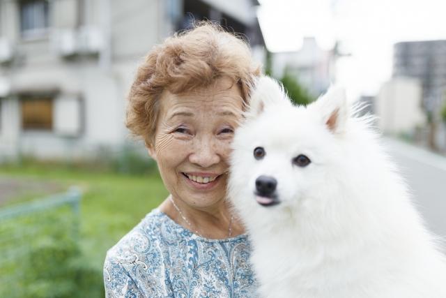 ペットが飼える高齢者施設