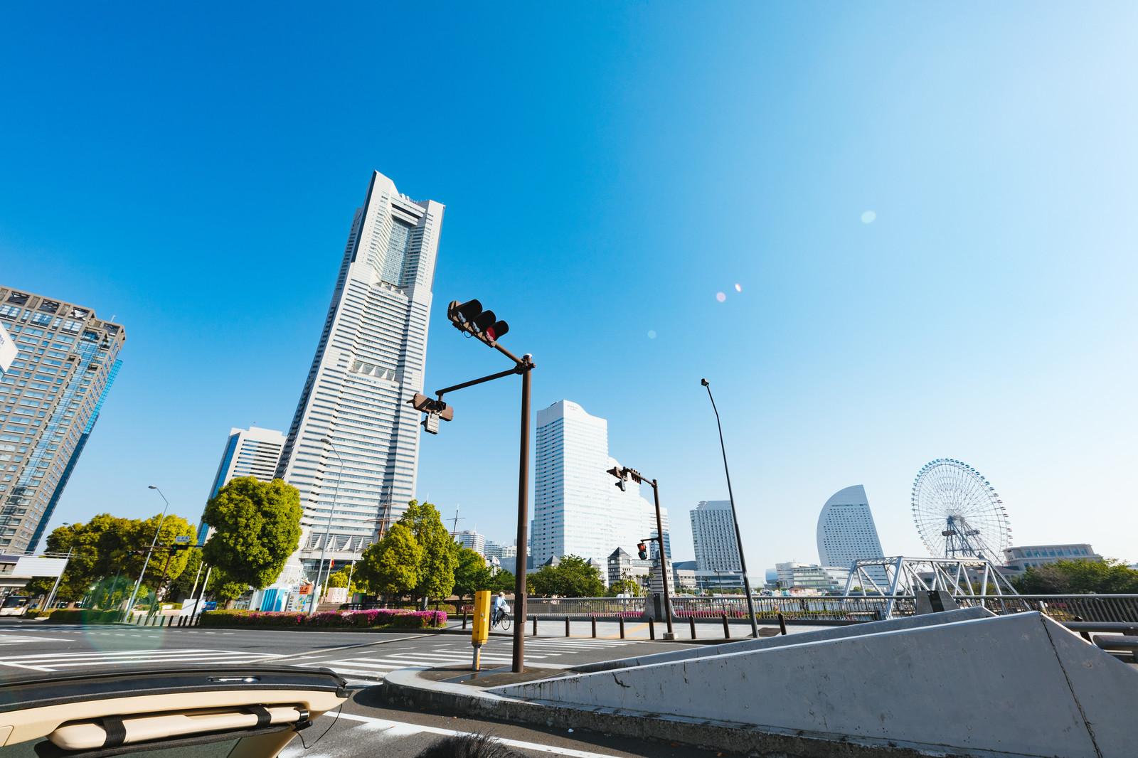 神奈川県横浜市の街並み