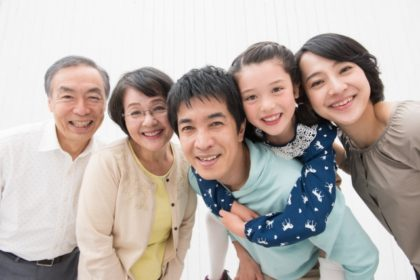 近居で暮らす家族